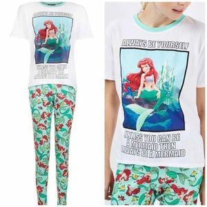 Topshop Little Mermaid Pajama Set